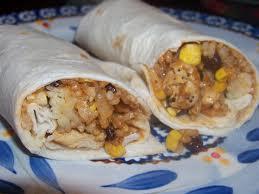 chicken burritto